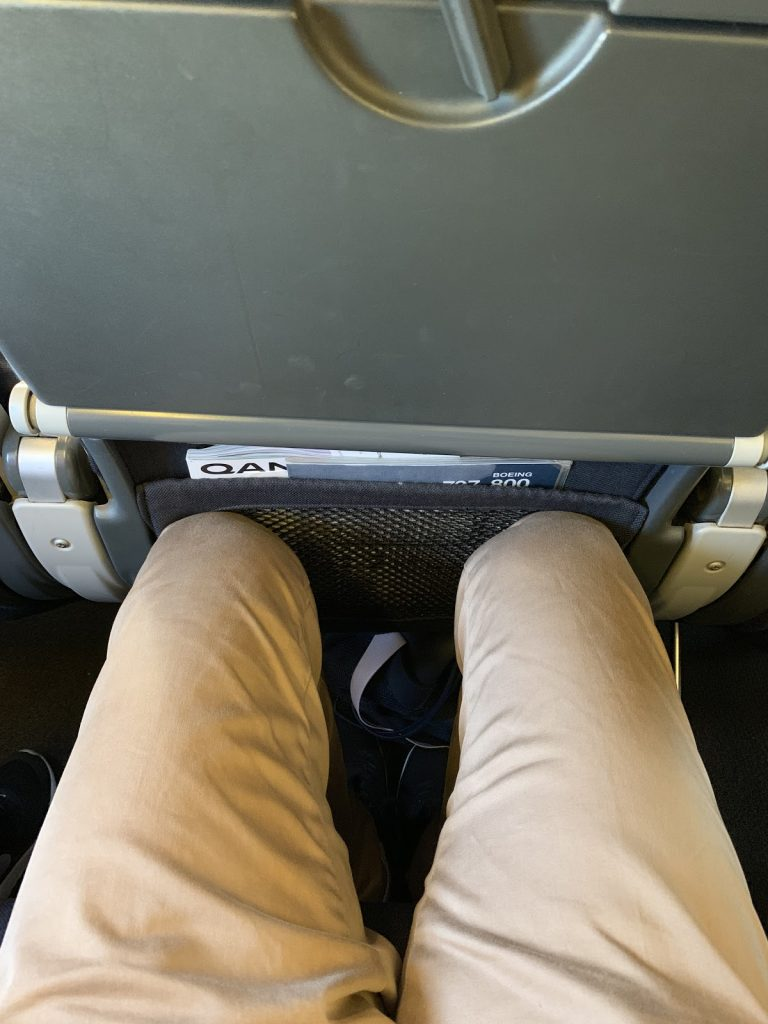 Qantas 737-800 legroom