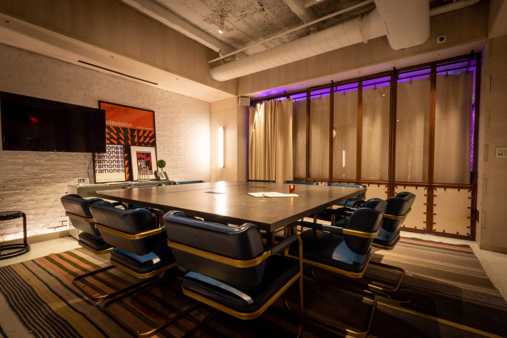Moxy New York Times Square Meeting room