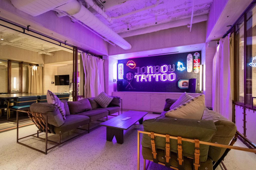 Moxy New York Times Square JonBoy Tattoo