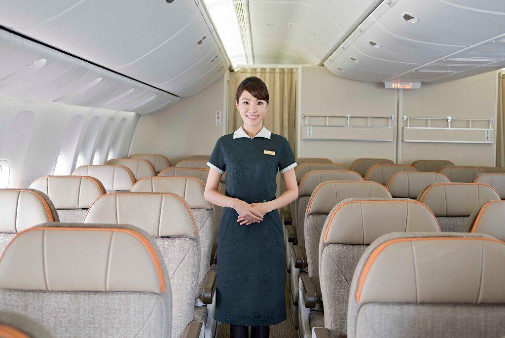 EVA Air 777-300ER Premium Economy