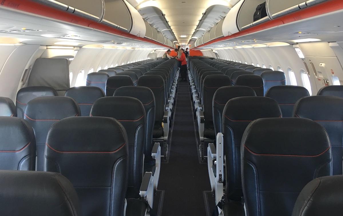 Jetstar A321 Economy Class