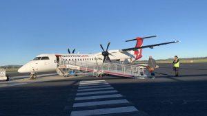 Qantas Dash 8-Q400 Economy Class overview