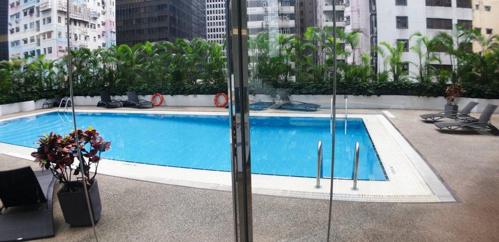 Novotel Century Hong Kong swimming pool