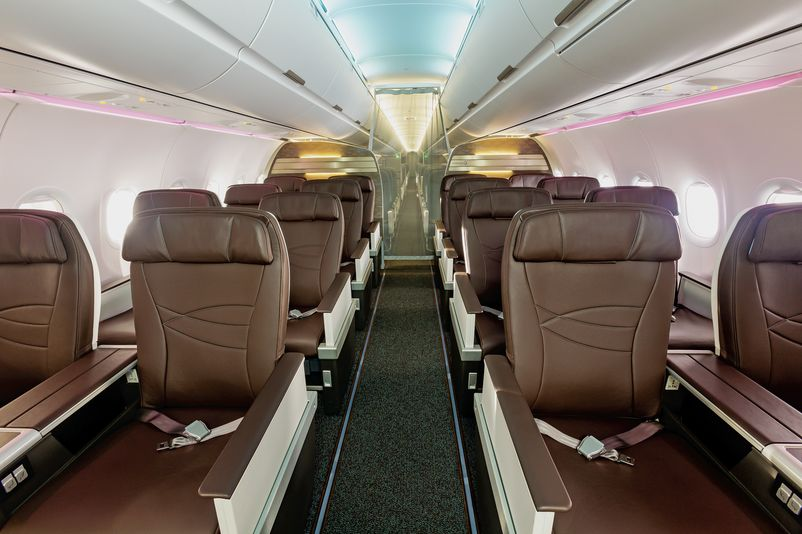 Hawaiian Airlines A321 First Class