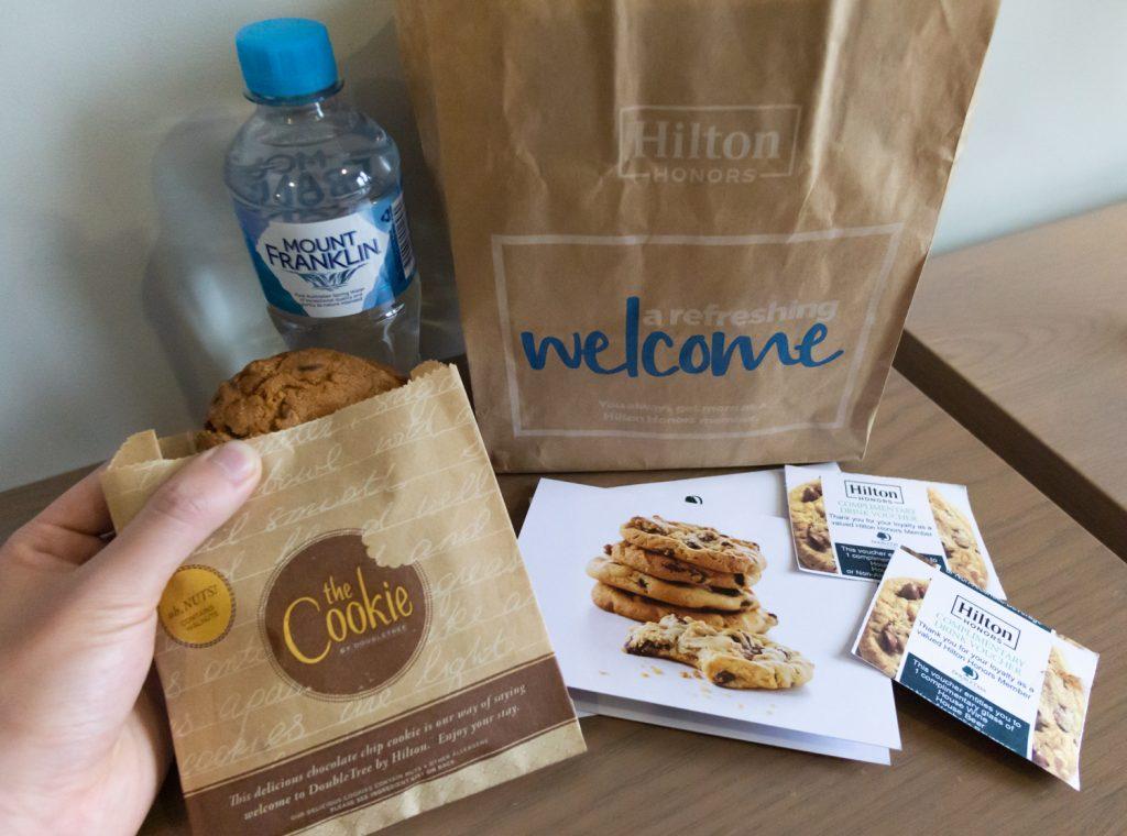 DoubleTree Hilton Melbourne Cookie