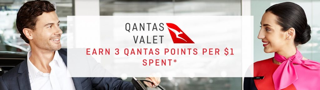 Earning Qantas Points - Parking