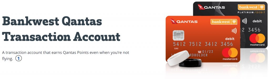 Earning Qantas Points - Bankwest QTA