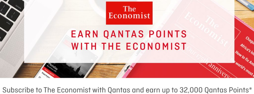Earning Qantas Points - The Economist