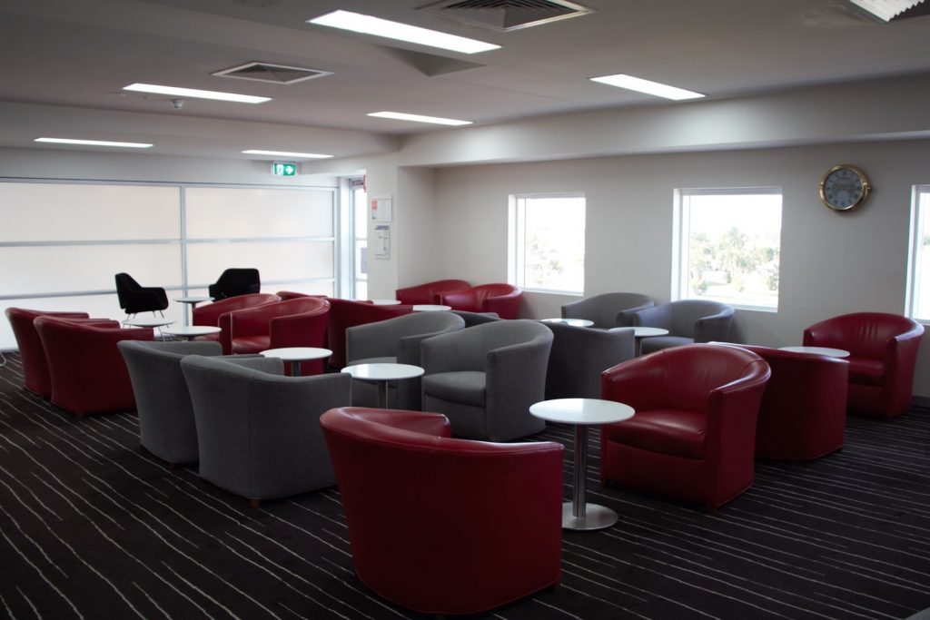 9 Qantas Lounge Mackay seating area