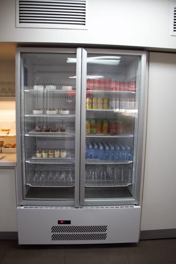 8 Qantas Lounge Mackay stocked fridge