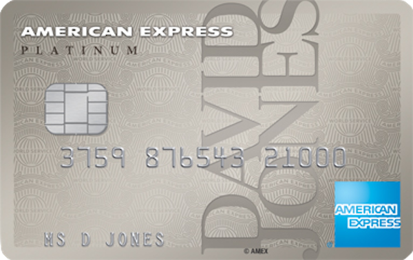 David Jones American Express Platinum