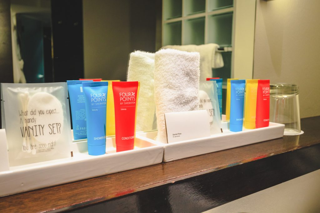 Four Points by Sheraton Sihlcity - Zurich bathroom amenities