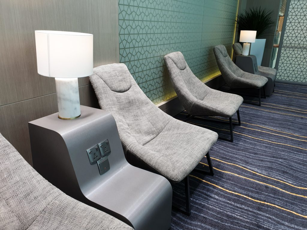 Marhaba Lounge Singapore seating