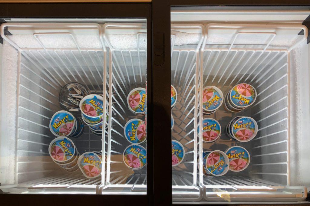 Changi Lounge Jewel Singapore ice cream