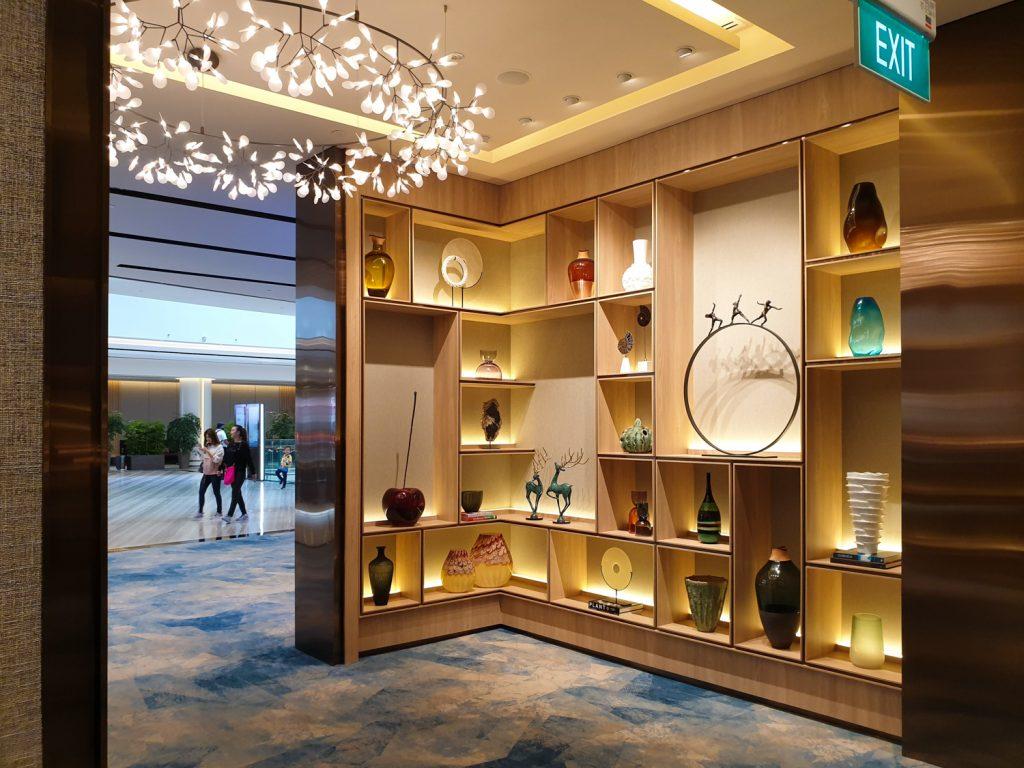 Changi Lounge Jewel Singapore entrance
