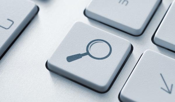 Keyboard search button