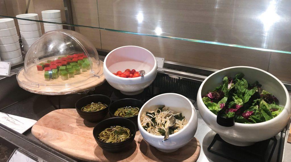Plaza Premium Lounge Singapore food
