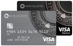 $0 international transaction fees on the Macquarie Visa Black and Platinum Card