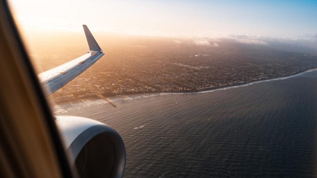 Qantas Economy view