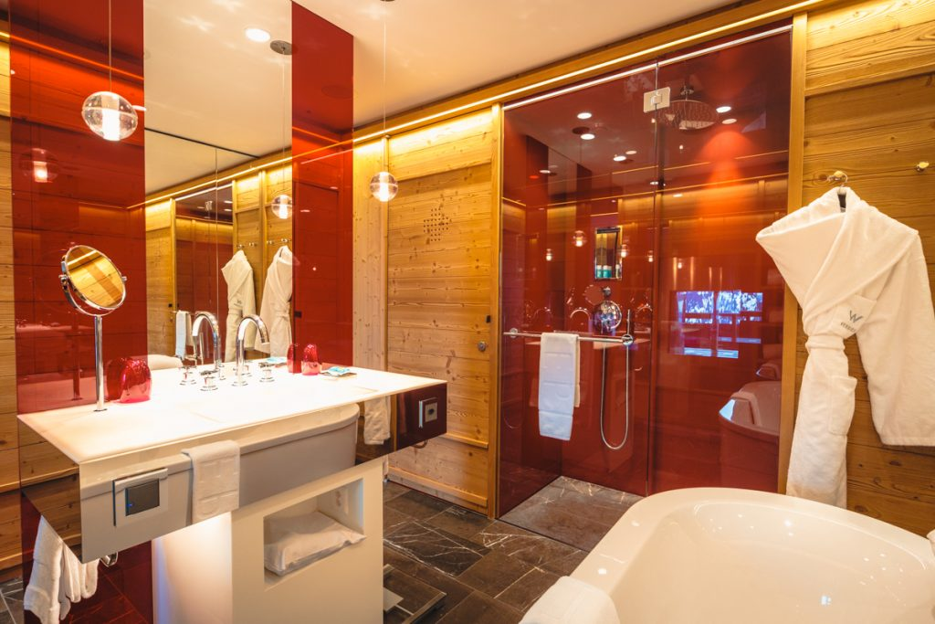 W hotel Verbier - Suite bathroom