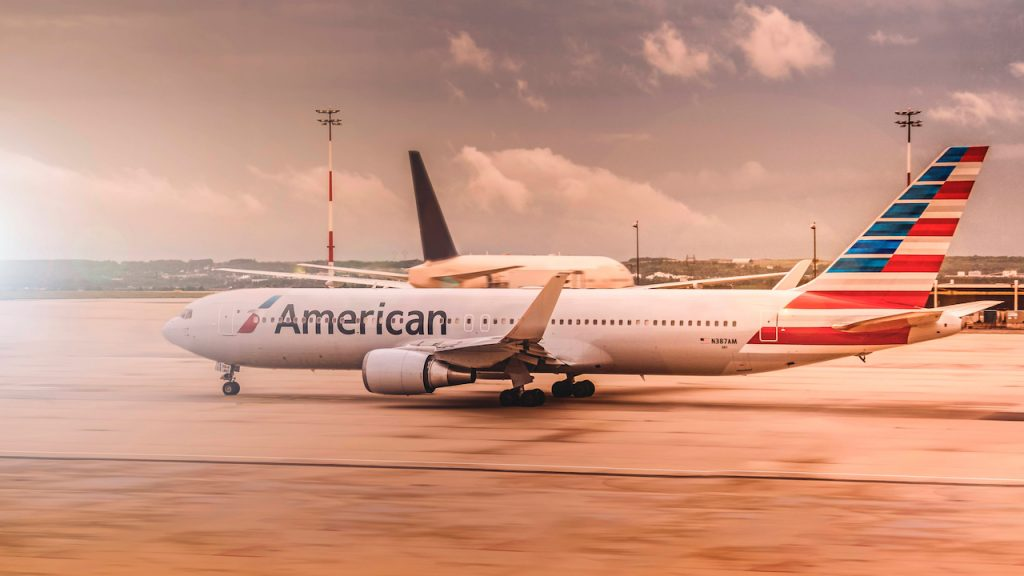 American Airlines plane on tarmac - pexels