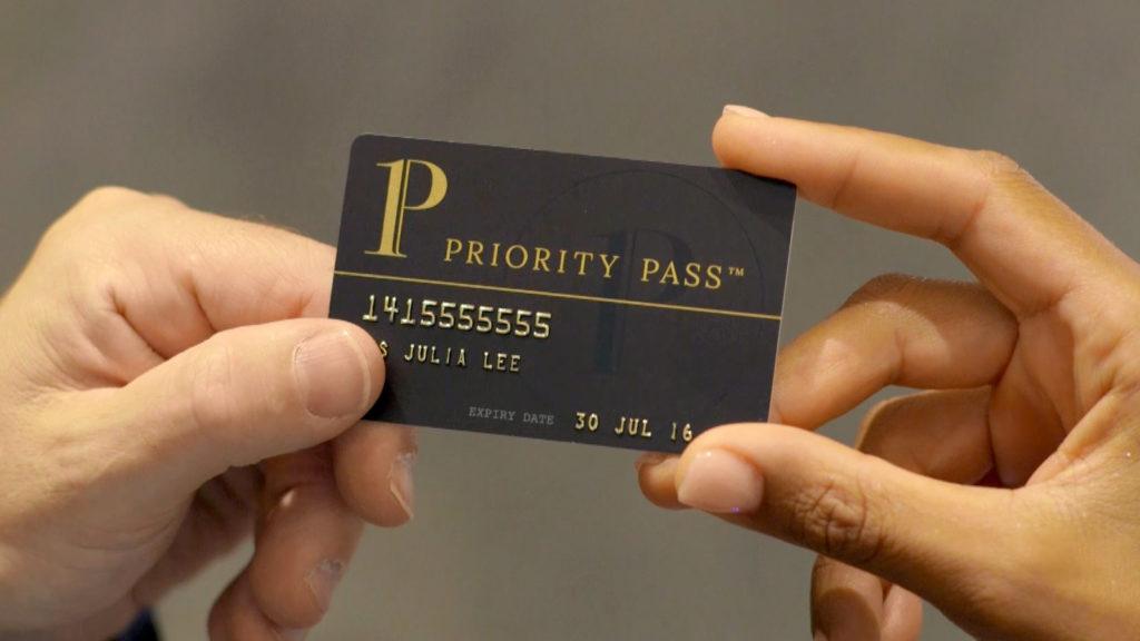 Priority Pass card
