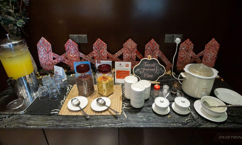 Plaza Premium Lounge Kuching breakfast