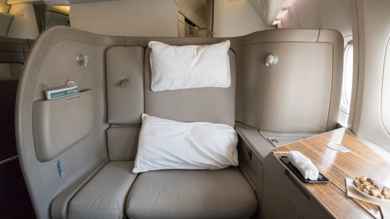 Cathay Pacific 777 First Class