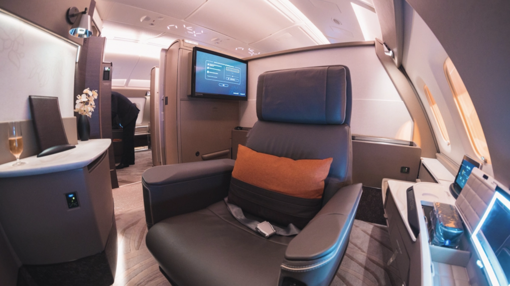 Singapore Airlines A380 (new) Suites Class
