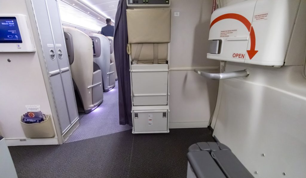 Singapore Airlines Premium Economy steps away from Business Class