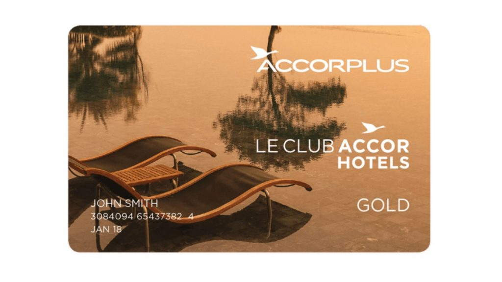 LeClub AccorHotels Gold Card