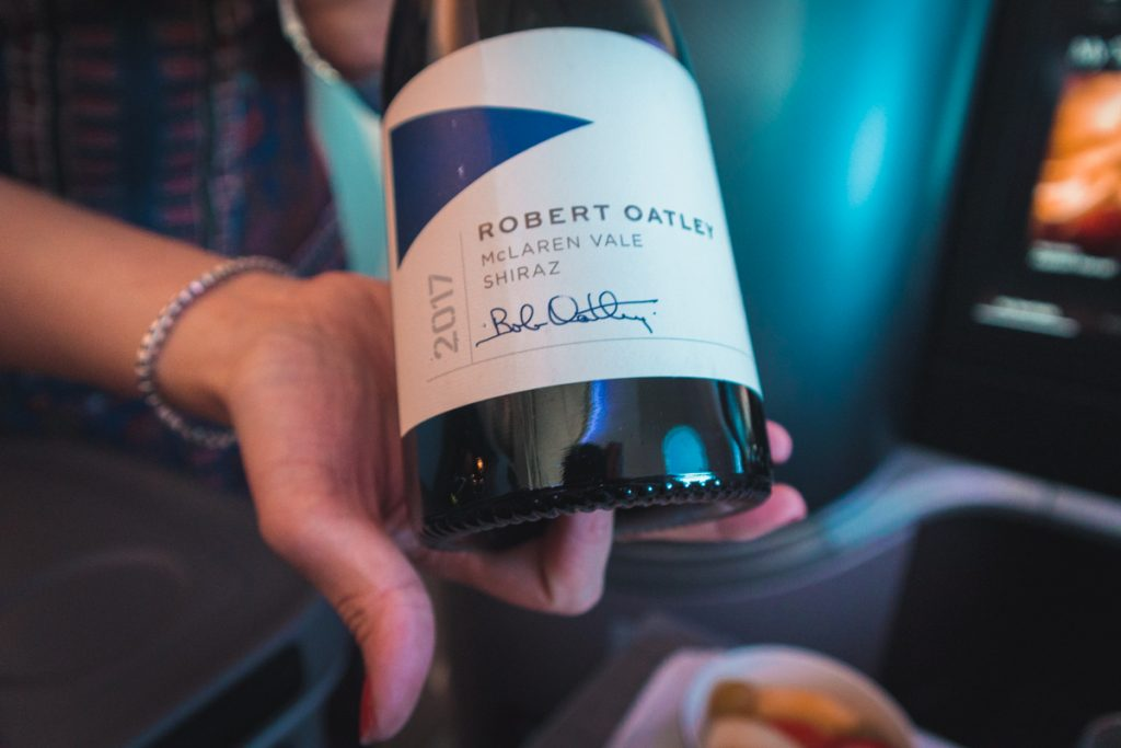 Singapore Airlines 787-10 Business Class McLaren Shiraz