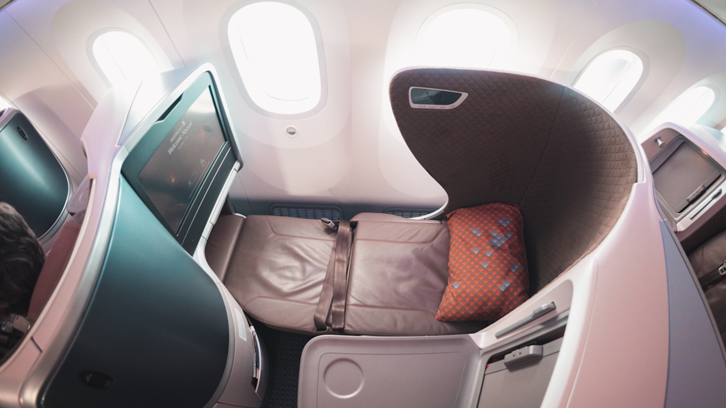Singapore Airlines 787-10 Business Class seat