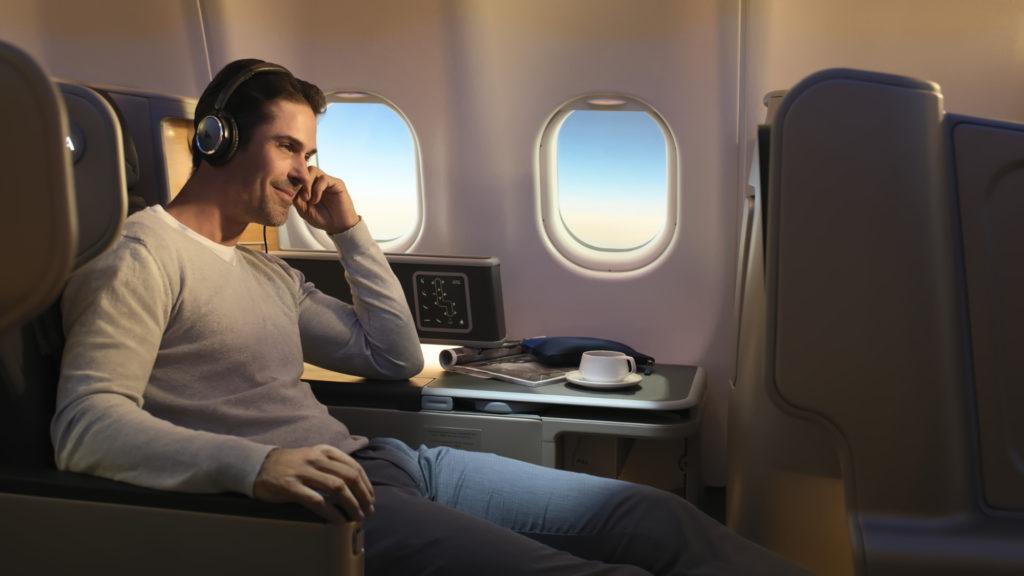Qantas Airbus A330 Business Class