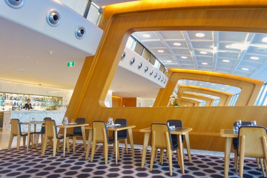 Qantas First Class Lounge Sydney