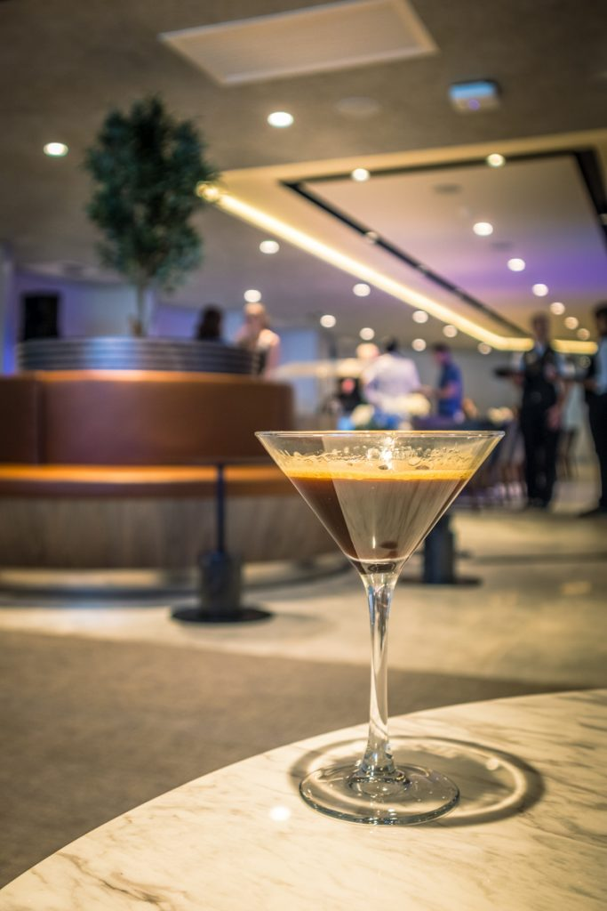 New American Express Lounge Sydney drinks