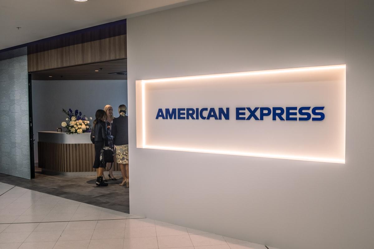 New American Express Lounge Sydney entrance