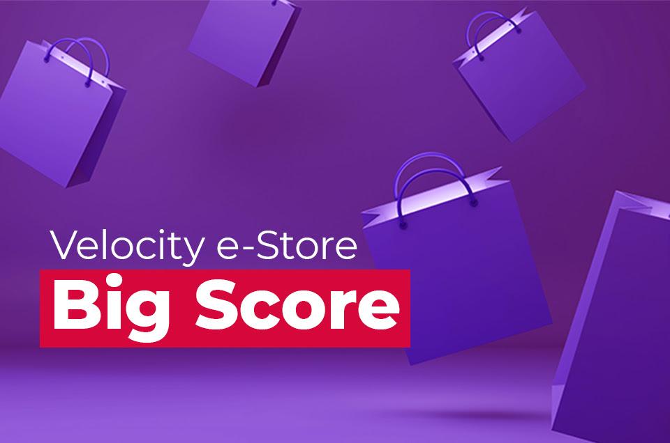 Velocity eStore double points promotion