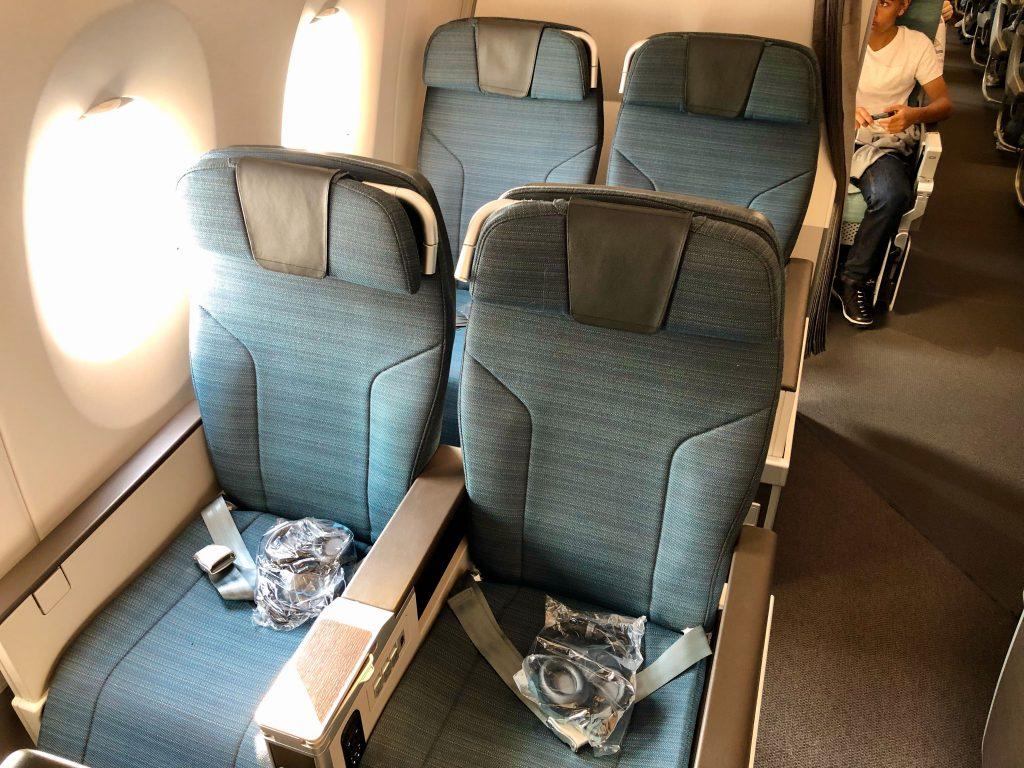 Cathay Pacific A350 Premium Economy Class seats