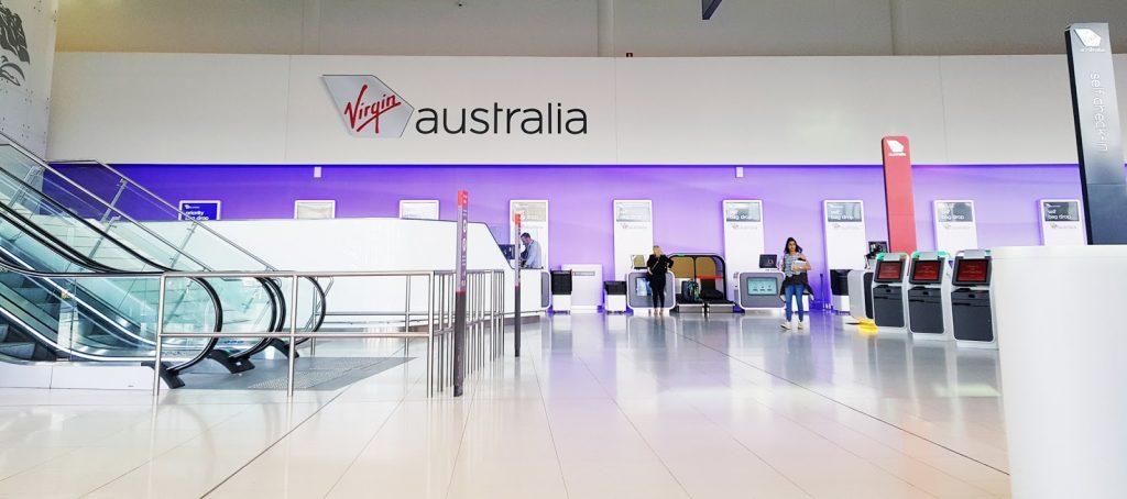 Virgin Australia Perth check-in