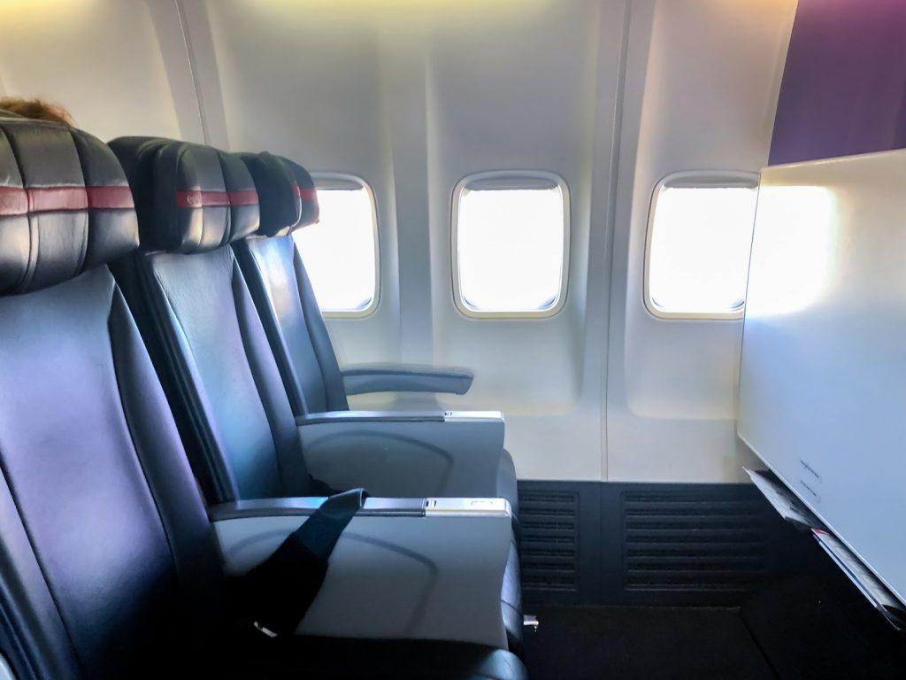 Virgin Australia 737 Economy X Row 3
