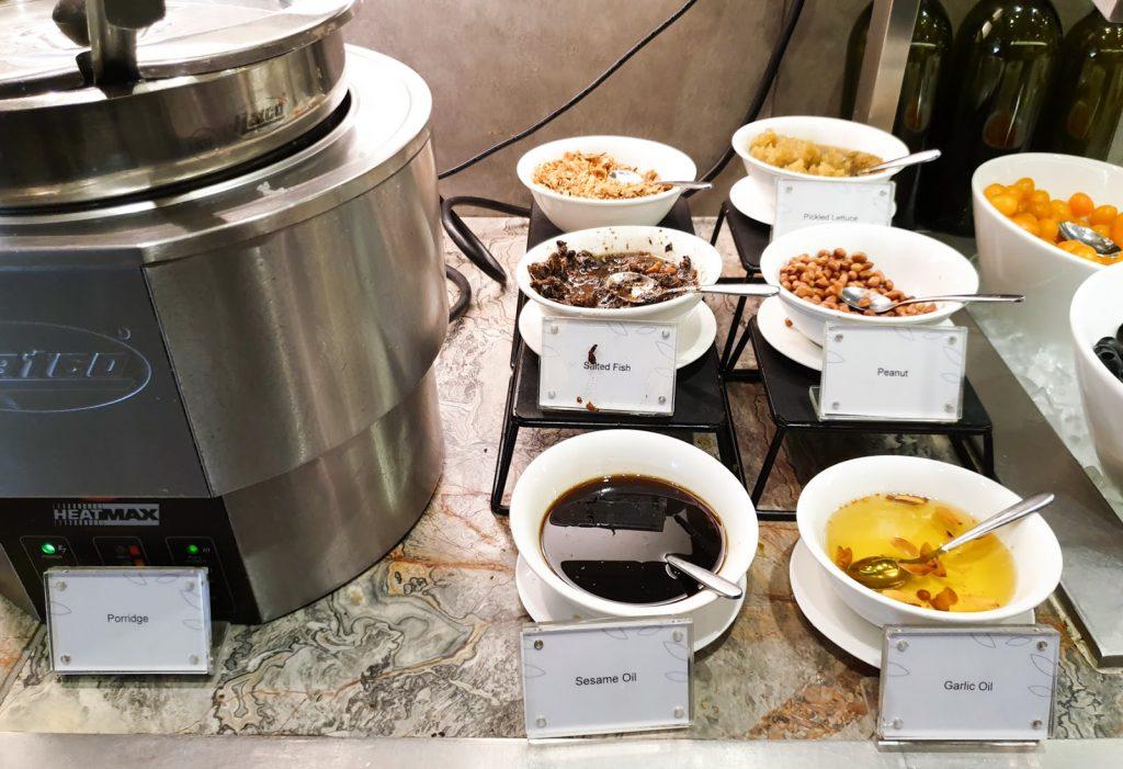 Plaza Premium KLIA Satellite porridge