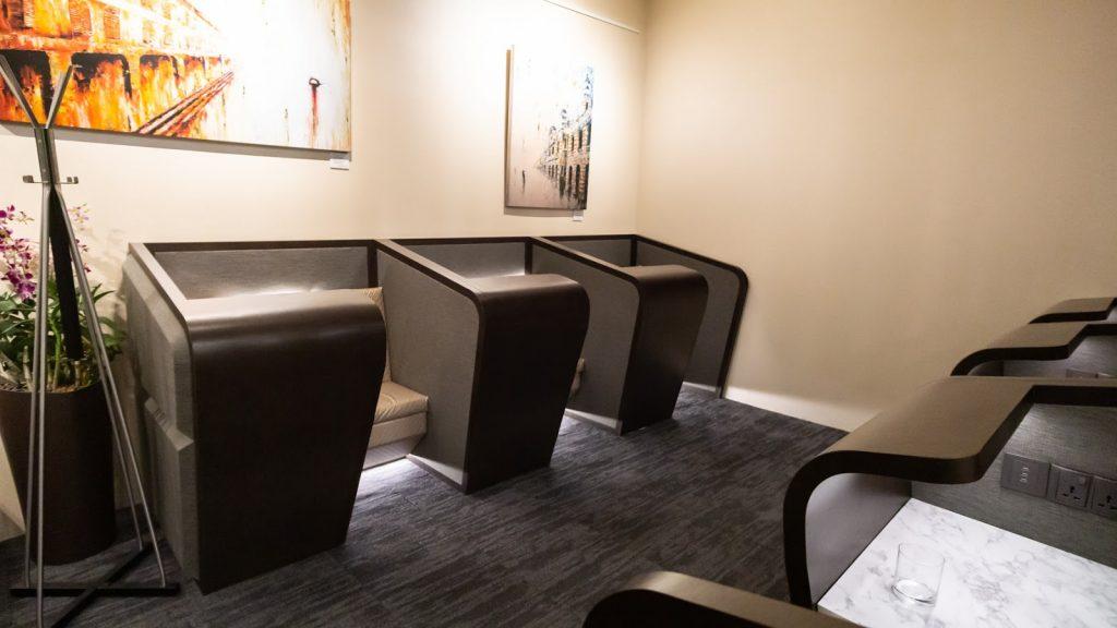 SATS Premier Lounge Changi T3 seating