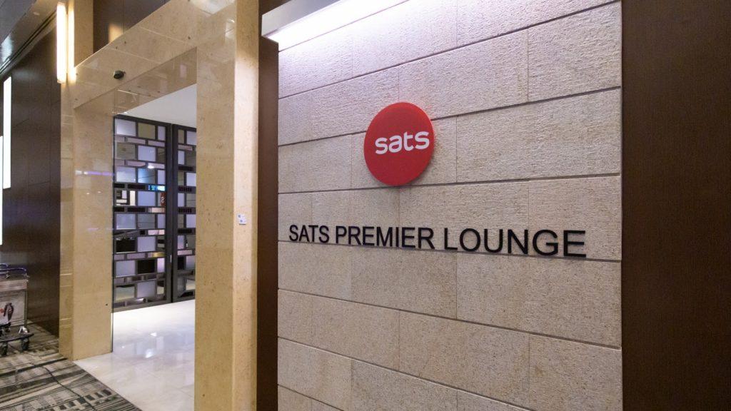 SATS Premier Lounge Changi T3 entrance