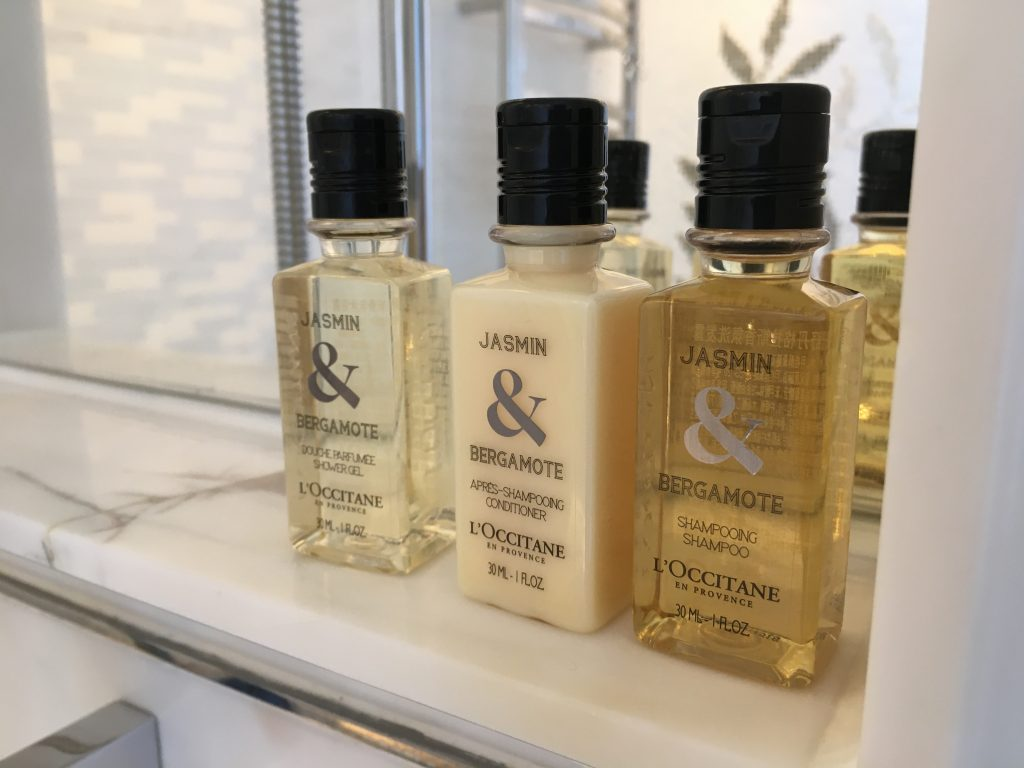 Shangri-La Jing An Shanghai bathroom amenities