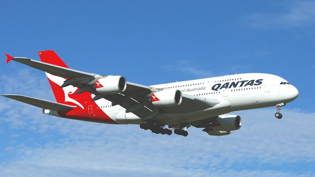 Qantas Airways A380 Plane