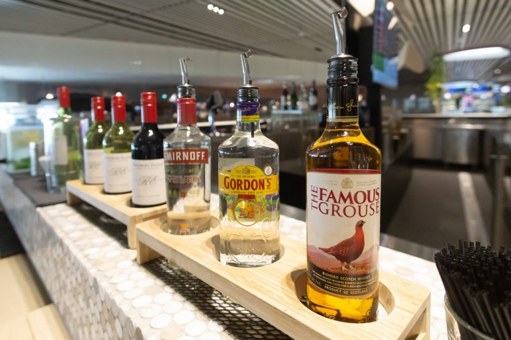 The Blossom Lounge Changi alcohol