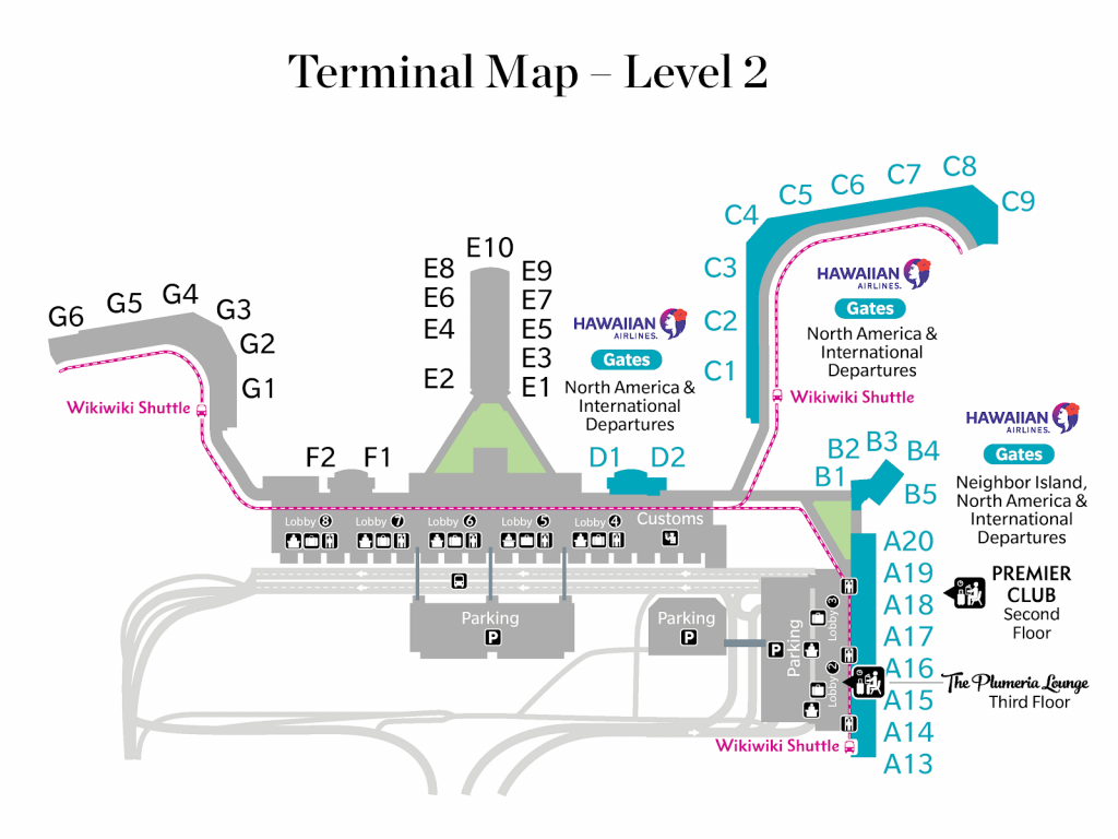 Plumeria Lounge Honolulu location map