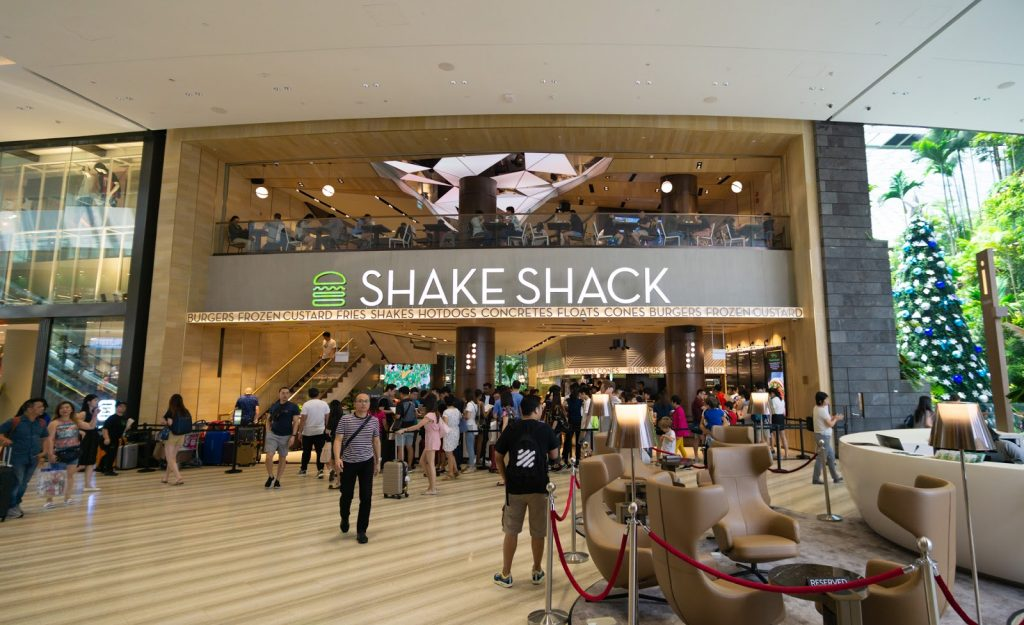 Jewel Changi Airport Shake Shack