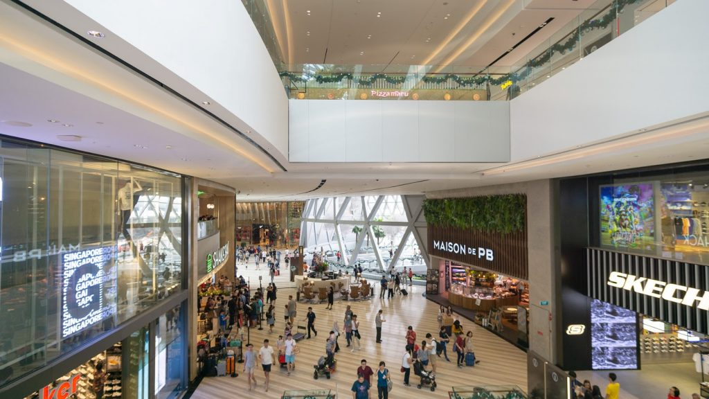 Jewel Changi Airport shops